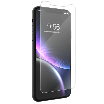 InvisibleShield GlassPlus VisionGuard iPhone XR Case Friendly Screen
