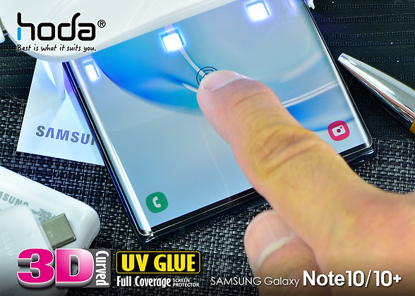 Hoda Samsung Galaxy Note 10 Plus UV Tempered Glass