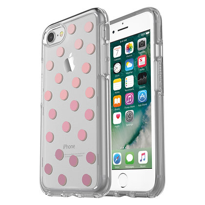 OtterBox Symmetry Clear Series iPhone 7/8/SE, Graphic Save Me A Spot