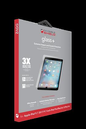 InvisibleShield GlassPlus iPad Pro 9.7-inch & Air 1, 2, Screen
