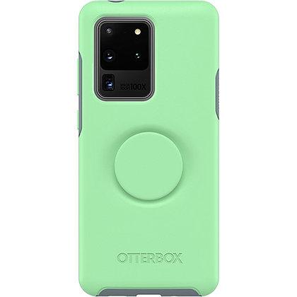 OtterBox Symmetry Otter + Pop Galaxy S20 Ultra 5G, Mint To Be