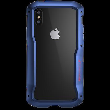 """Element Case iPhone Xs Max 6.5"""" Vapor S, Blue"""
