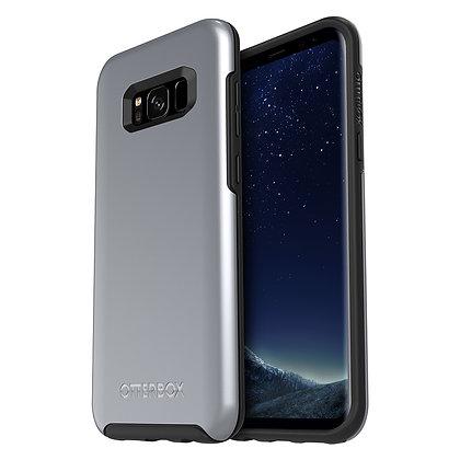 OtterBox Symmetry Series (Metallic) Samsung Galaxy S8+, Titanium Silver