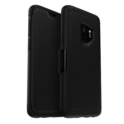 OtterBox Strada Samsung Galaxy S9, Shadow (Black/Pewter)