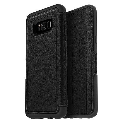 OtterBox Strada Samsung Galaxy S8+, Onyx (Black/Black)