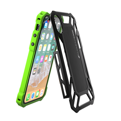 Element Case iPhone X Roll Cage, Green