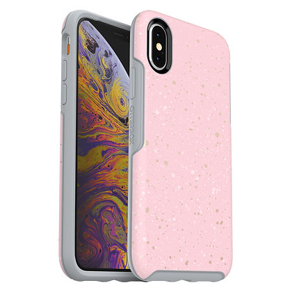OtterBox Symmetry Series IML iPhone Xs, Specktacular (Grey/Graphic)