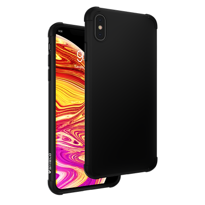 InvisibleShield Glass Curve 360 Protection Plus Case iPhone Xs Max, Black