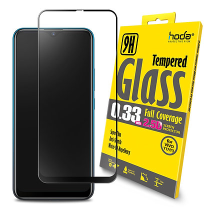 Hoda Vivo Y17/Y3 Neo Tempered Glass, 2.5D Full Coverage