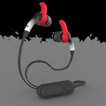 iFrogz Audio Sound Hub Plugz Wireless Earbuds, Black/White