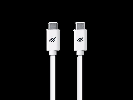 iFrogz Unique Sync USB-C 3.1 to USB-C 3.1 Cable, 1.8M White