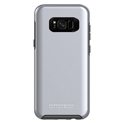 OtterBox Symmetry Series (Metallic) Galaxy S8+, Titanium Silver