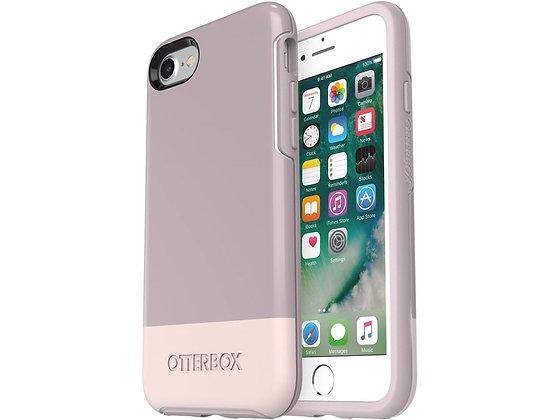 OtterBox Symmetry IML Series iPhone SE/8, Skinny Dip (White/Pale/Dip)