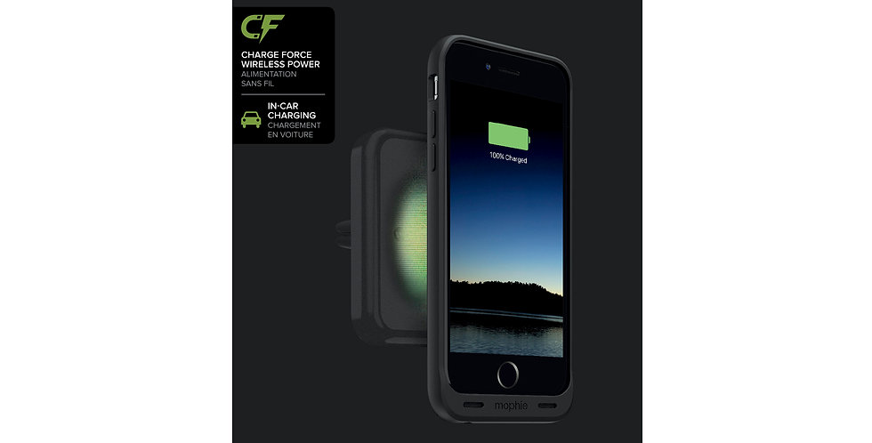 Mophie Charge Force Vent Mount, Black