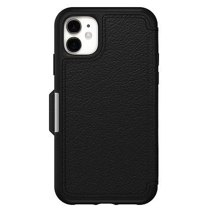 OtterBox Strada Series iPhone 11, Shadow (Black/Pewter)