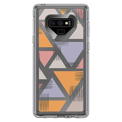 OtterBox Symmetry Clear Galaxy Note 9, Graphic Love Triangle