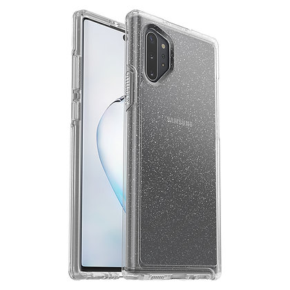 OtterBox Symmetry Clear Series Samsung Galaxy Note 10+, Stardust (Flake/Clear)