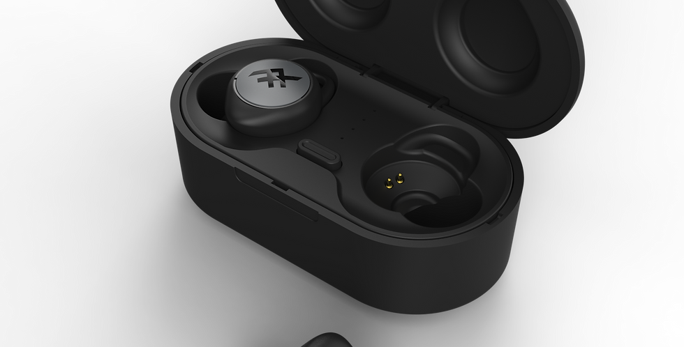 iFrogz Audio Airtime True Wireless Stereo Earbuds, Black