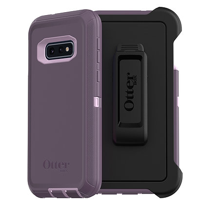 OtterBox Defender Samsung Galaxy S10e, Purple Nebula (Orchid/Purple)