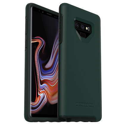 OtterBox Symmetry Series Samsung Galaxy Note 9, Ivy Meadow (Green/Scarab)