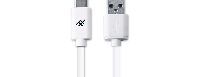iFrogz Unique Sync USB-C 3.1 To USB-A 3.1 Cable, 1.8M White