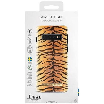 iDeal Of Sweden Fashion Case 2019 Samsung Galaxy S10, Sunset Tiger