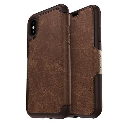 OtterBox Strada Series iPhone X, Espresso (Brown/Brown)