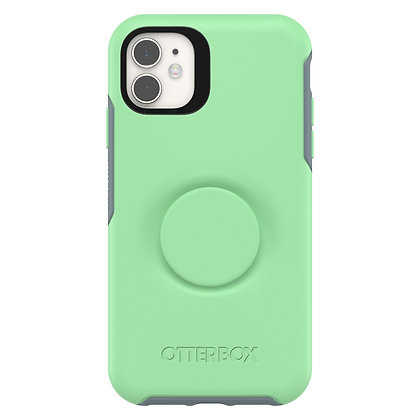 OtterBox Symmetry Series Otter + Pop iPhone 11, Mint To Be
