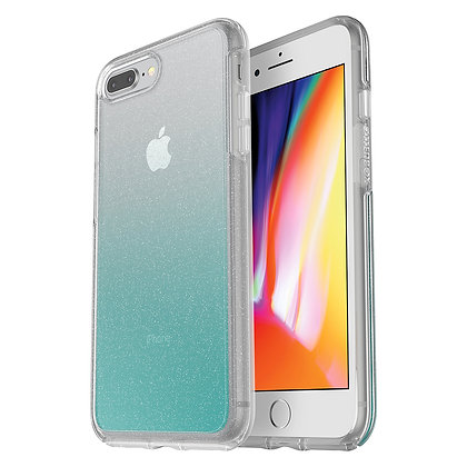OtterBox Symmetry Clear iPhone 8 Plus, Graphic Aloha Ombre