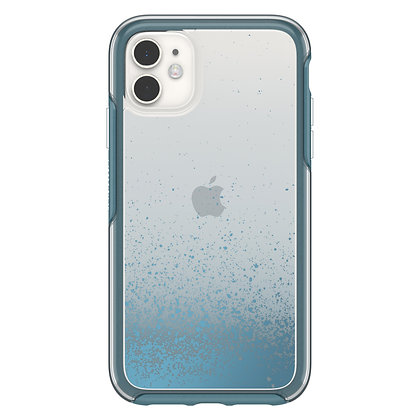 OtterBox Symmetry Clear Series iPhone 11, We'll Call Blue (Clear/Blue)