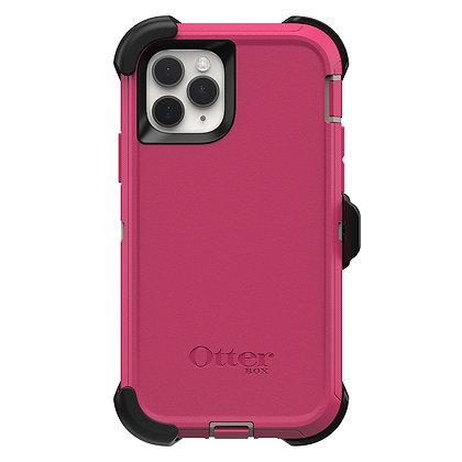 OtterBox Defender Series iPhone 11 Pro, Love Bug (Dove/Raspberry)