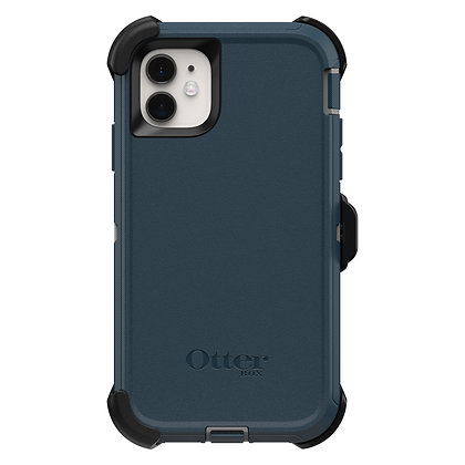OtterBox Defender Series iPhone 11, Gone Fishin (Wet/Blue)