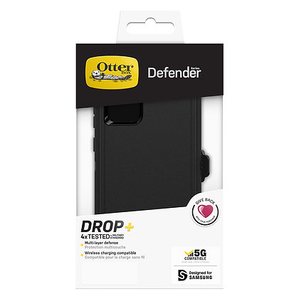 OtterBox Galaxy Note20 5G Defender Series, Black