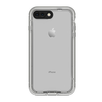 LifeProof Nuud Case iPhone 8 Plus, Snowcapped