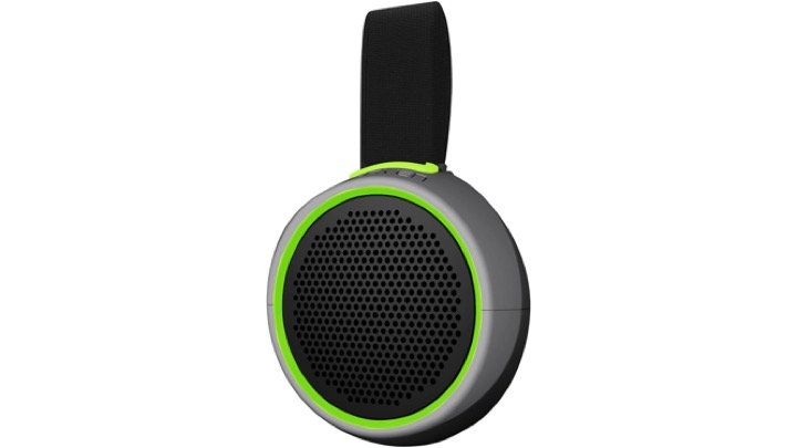 Braven Speaker 105 Waterproof Bluetooth, Silver/Green