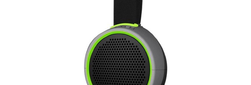 Braven Speaker 105 Waterproof Bluetooth, Silver/Green