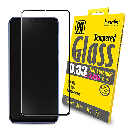 Hoda Xiaomi Mi 9/Mi X3/Honor Magic 2 Tempered Glass, 2.5D Full Coverage