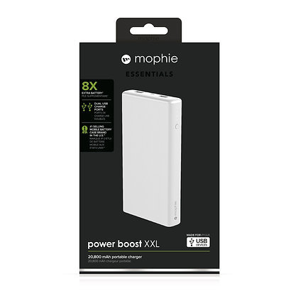 Mophie Power Boost XXL V2 External Battery, White