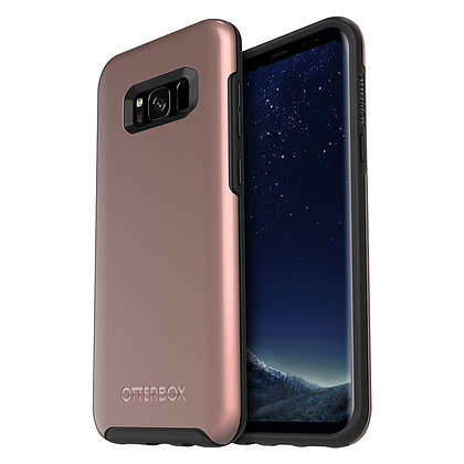 OtterBox Symmetry Series (Metallic) Samsung Galaxy S8+, Pink Gold