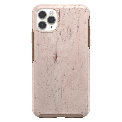 OtterBox Symmetry Clear Series iPhone 11 Pro Max, Set In Stone (Red/Rose)