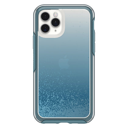 OtterBox Symmetry Clear Series iPhone 11 Pro, We'll Call Blue (Clear/Blue)