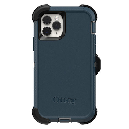 OtterBox Defender Series iPhone 11 Pro, Gone Fishin (Wet/Blue)