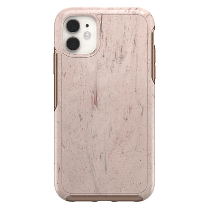 OtterBox Symmetry Clear Series iPhone 11, Set In Stone (Red/Rose)