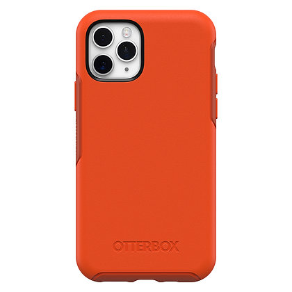 OtterBox Symmetry Series iPhone 11 Pro, Risk Tiger (Red/Pumpkin)