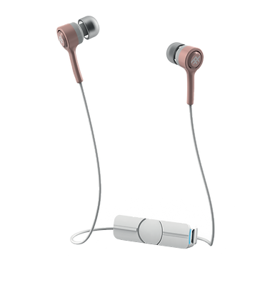 iFrogz Audio Coda Wireless Earbuds, Rose Gold