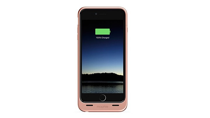 Mophie Juice Pack Battery Case  iPhone 6s/6 Plus, Rose Gold
