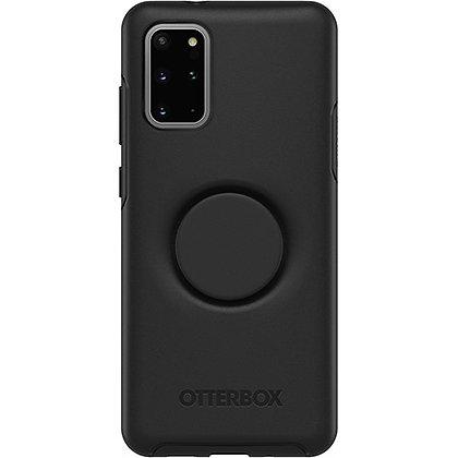 OtterBox Symmetry Series Otter + Pop Samsung Galaxy S20+, Black