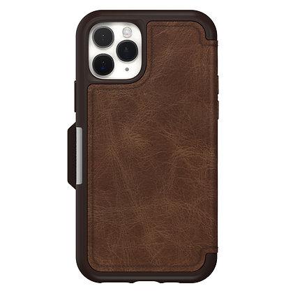 OtterBox Strada Series iPhone 11 Pro, Espresso (Brown/Brown)