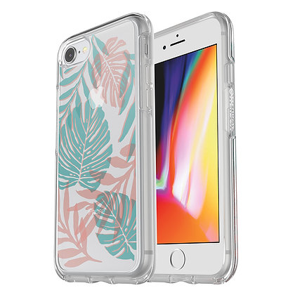 OtterBox Symmetry Clear Series iPhone SE/8, Graphic Easy Breezy