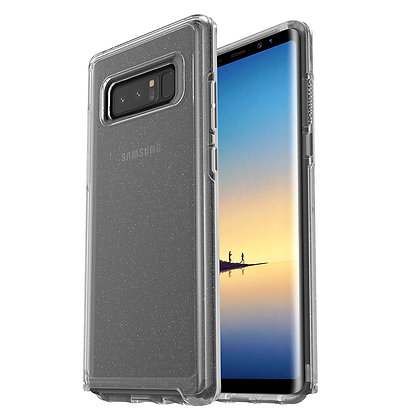 OtterBox Symmetry Clear Series Samsung Galaxy Note 8, Stardust (Flake/Clear)